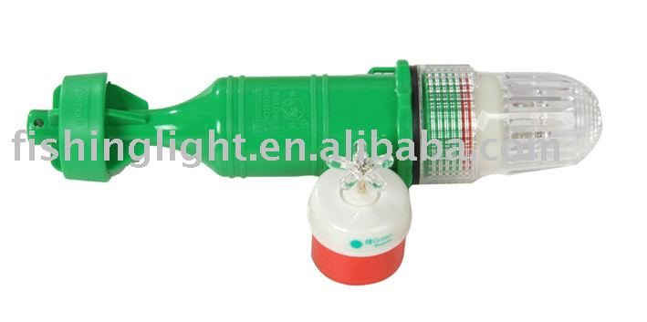 Fishing Strobe Light Used On The Fish Net Turn On In Night Turn ...