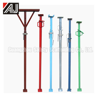 Safety Scaffolding Adjustable Post Supports For Slab Formwork