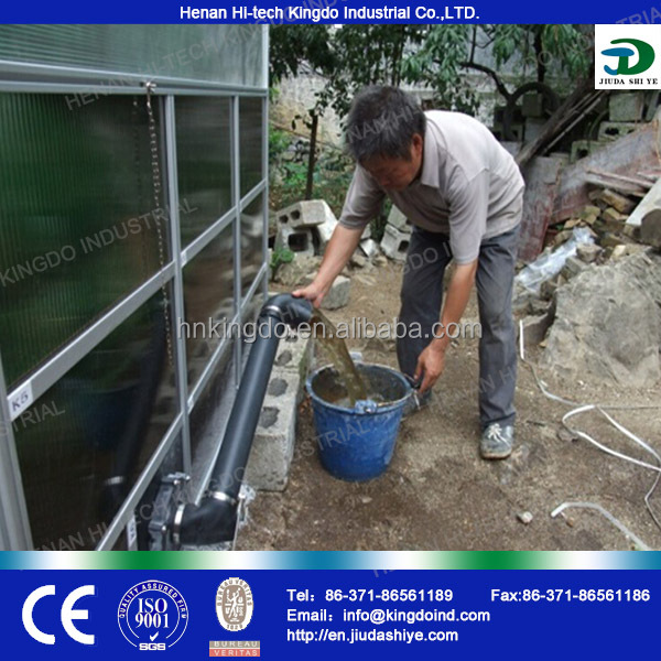 Full Biogas Machine to Generate Electricity/ Small Biogas Plant / Biogas Making Equipment