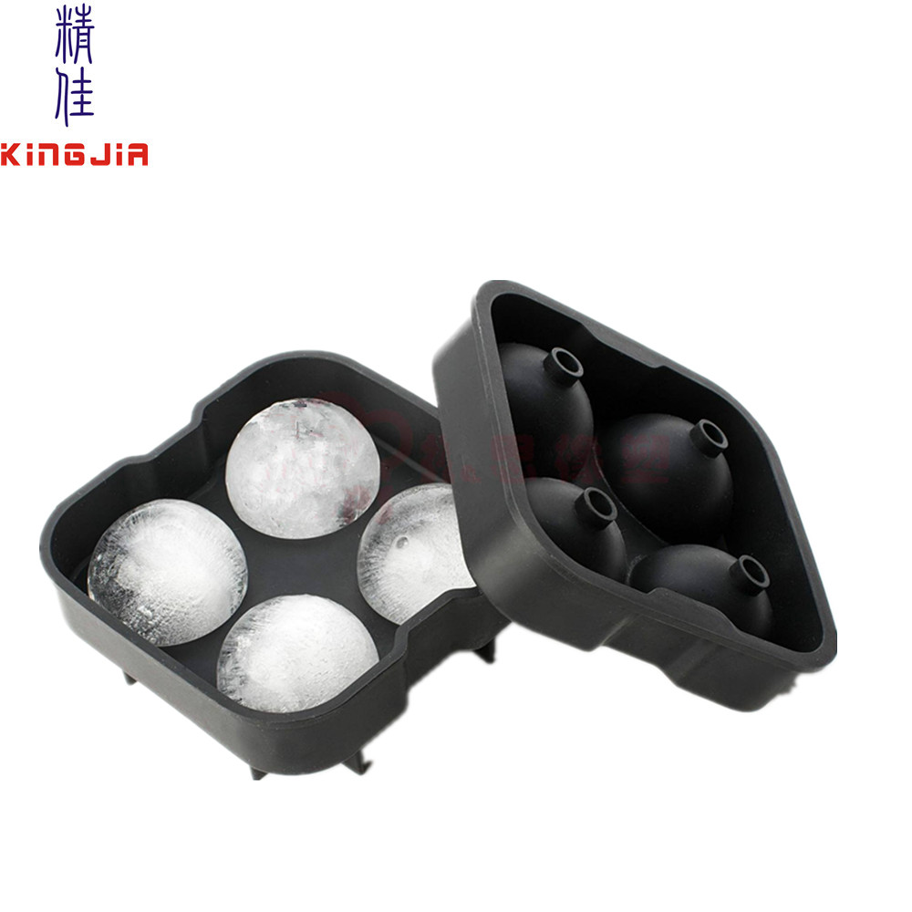 King size large Ice Ball Silicone Sphere Tray Molds,silicone ice ball maker