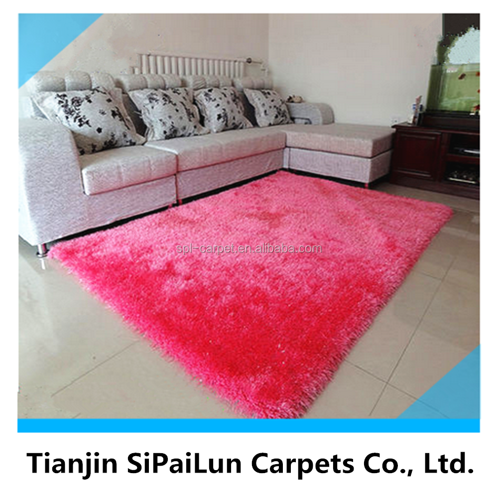Best quality pink fashionable newest cotton applique flower carpets and rugs