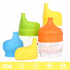 FDA Free Safe Reusable Silicone Spill Proof Sport Drink Water Bottle Cap