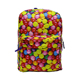 High quality 600D Polyester colorful design women casual backpack
