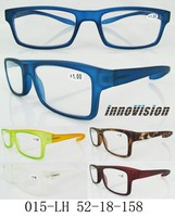 new design 2015 popular reading glasses Good quality cheap colorful reading glasses