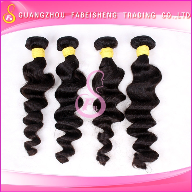 Factory wholesale price natural color fashion style african american hair product