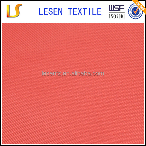 Lesen textile fashion water proof 230T 100% polyester twill taffeta for jacket or outdoors