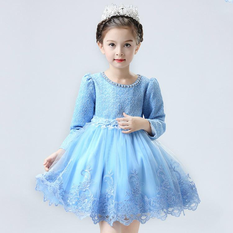 Wear Western Kleid Baby-parteikleid Kinder Kleider Designs langarm ...