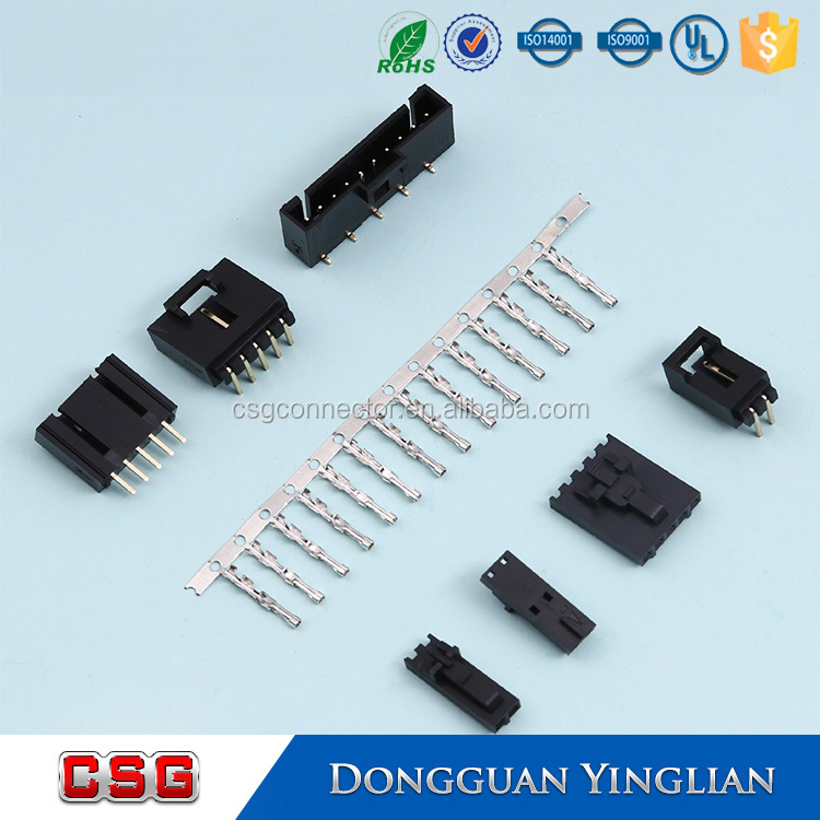 2.54mm Pitch Electrical Connector Pbt-gf20 - Buy 2.54mm Pitch ...