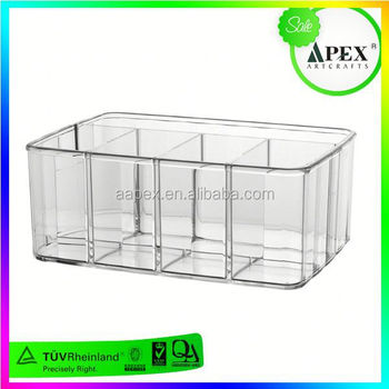 3 Tier Acrylic Display Stand,Eye Shadow Brush Organizer,Lucite ...