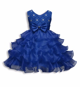 Hot Selling Lace Dresses for Girls 5 colors /2017 Baby Fancy Girls Party Dress Children Frocks Designs