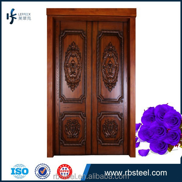 Entrance Double Wooden Doors, Entrance Double Wooden Doors Suppliers And  Manufacturers At Alibaba.com