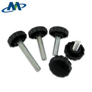 Adjustable Table Leg Screw, Plastic Head Thumb Hand Knob Screw
