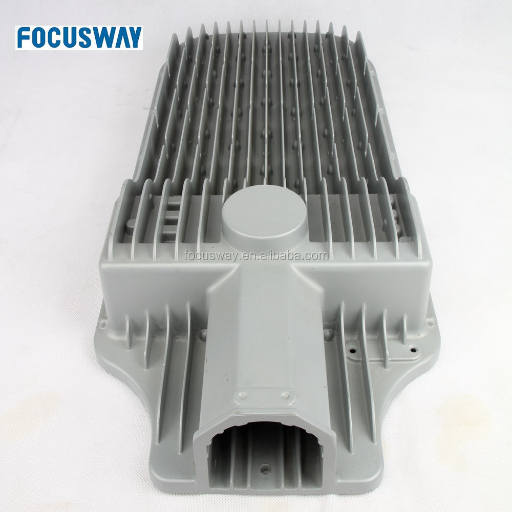 Customized LED street light housing aluminum casting light housing
