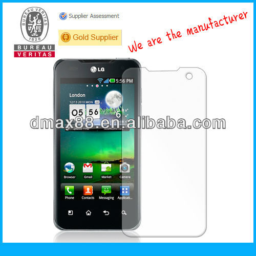 4H korea screen protector for LG OPTIMUS G2X oem/odm (High Clear)