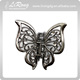 Antique Metal Butterfly Hair Claw Clip