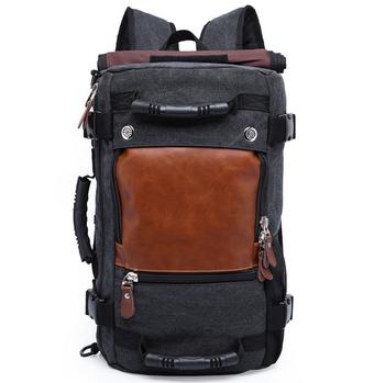 696589c99f Large Capacity 3-way Use Canvas Travel Duffle Bag