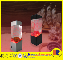 9 inch hot selling led lava erupting vocalno lamp