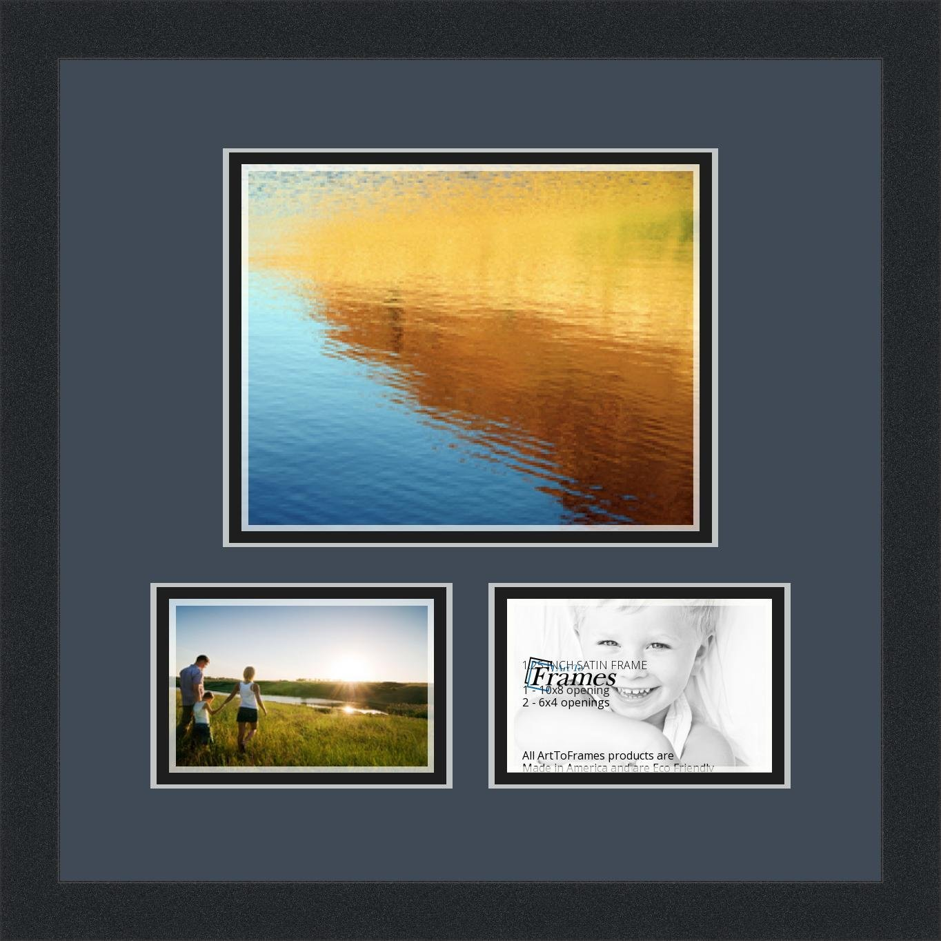 Buy Art To Frames Double Multimat 1329 58689 Frbw26079 Collage