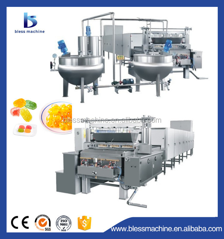2018 long working life soft jelly candy machine/production line exhibited at Canton fair