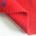 School Uniform Design Red Woven Twill Fabric For Making Clothes