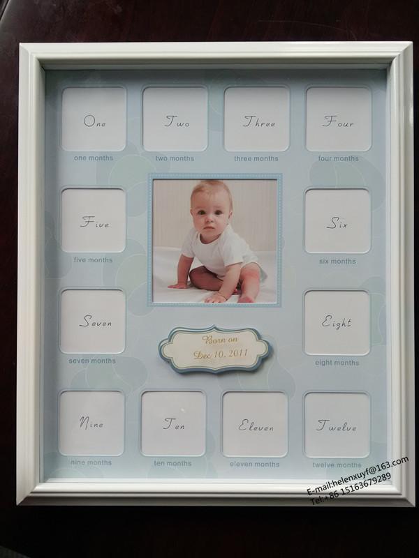 Neugeborenen Baby 12 Monate Holz Mdf Stehen Multi Fenster ...