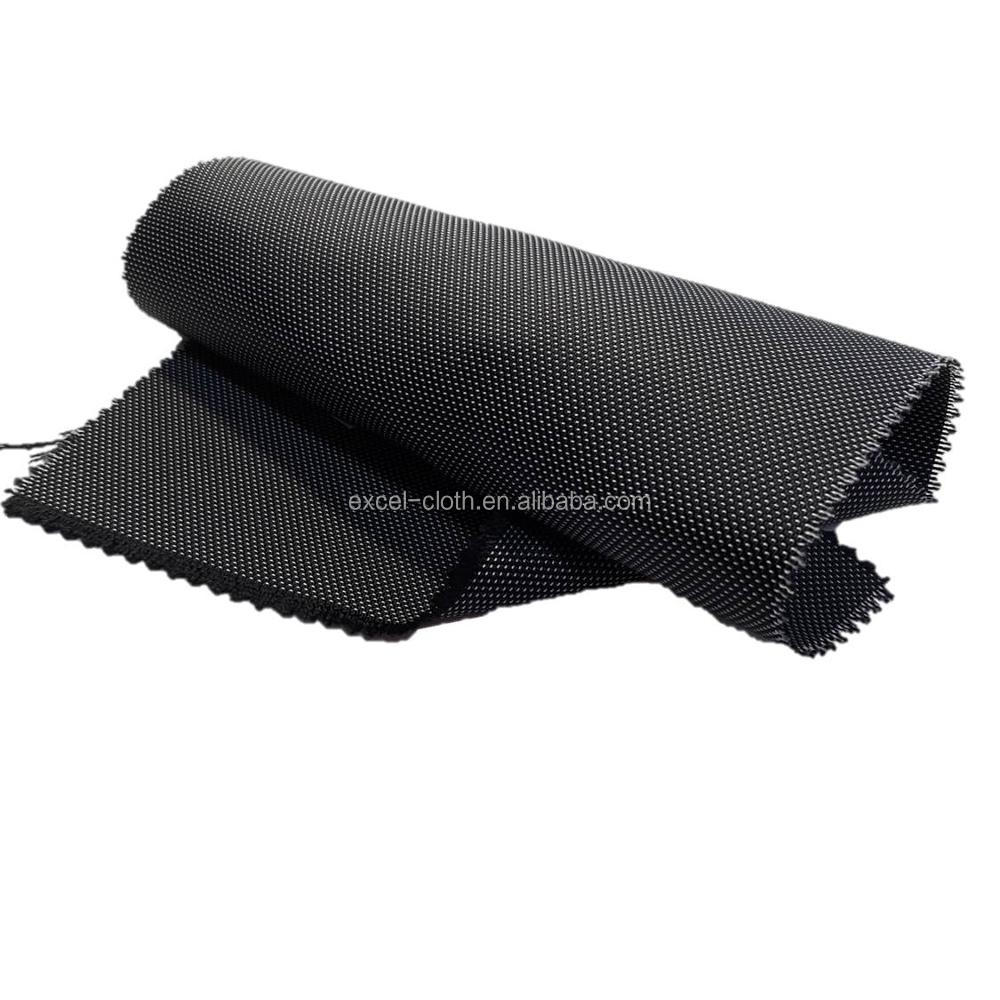 NT002 100 polyester/nylon plain woven waterproof fabric for sports hats backpacks bags and sneakers