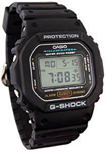 Casio Mens G-Shock Digital Watch, with Quartz Digital Movement, and Multi-Function Alarm, Stopwatch, and Countdown Timer, Features Hourly Time Signal, Auto Calendar, and 12- and 24-Hour Formats, Water-Resistant to 200 M (660 Feet)