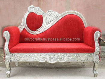 Delicieux Wedding Stage Sofa Set U0026 Chairs For Bride U0026 Groom From Classic Silvocrafts  (Indian Wedding