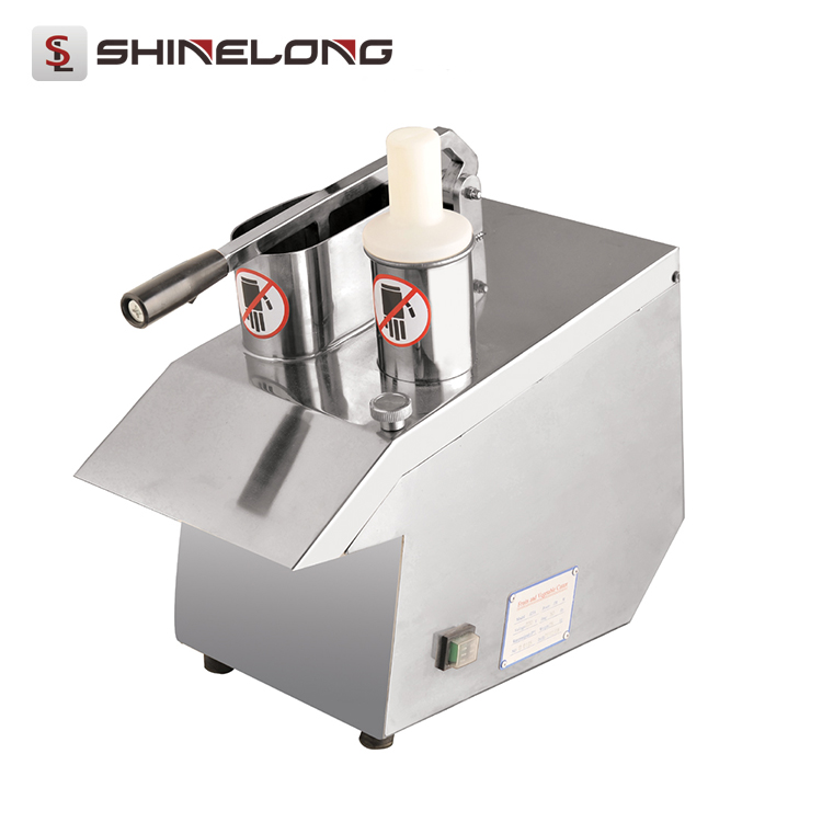 Restaurant Kitchen Equipment Electric Industrial Multifunction Vegetable and Fruit Cutter Machine