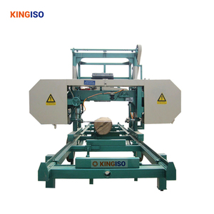 MJ800/MJ1000/MJ1200 Portable Horizontal wood mizer band sawmill machine  with diesel engine