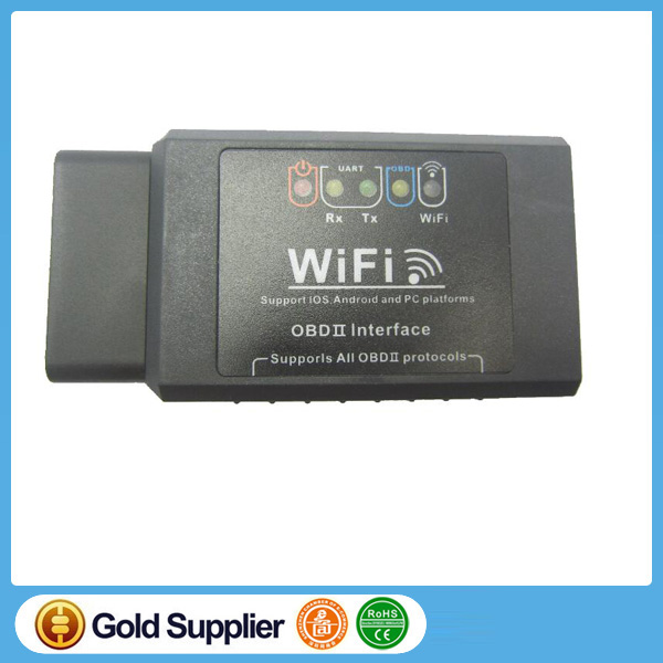 Super Mini Wifi ELM327 car scanner Wifi OBD 2 II Car Diagnostic Tool OBD2 Scanner Interface Support Android & IOS System