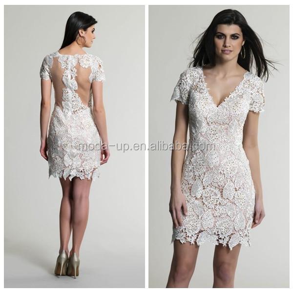 Под белое короткое платье