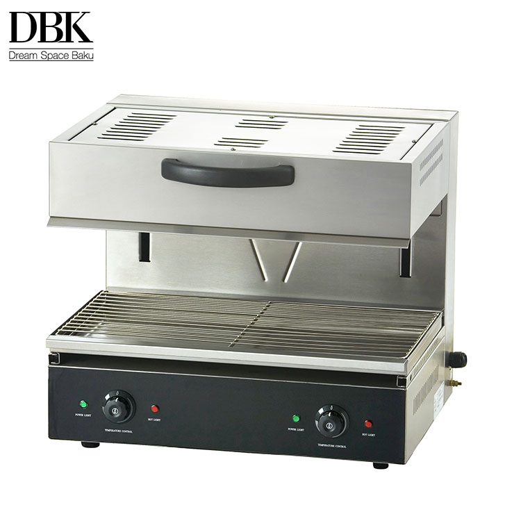 Industrial commercial kitchen equipment electric lift-up roaster salamander