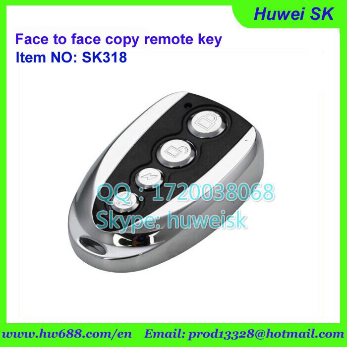 universal garage door openerSk315 Push Cover Universal Garage Door Remote Face To Face Copy