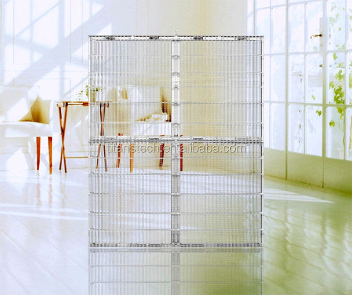 New technology Transparent Screen flexible led curtain display,smd outdoor p10 led display,see through led display flexible
