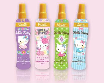 Hello Kitty Fragrance Body Buy Bath And Body Mist Spray Product On