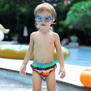 Swim Diapers Colorful Baby Swim Pants For Summer Nipples