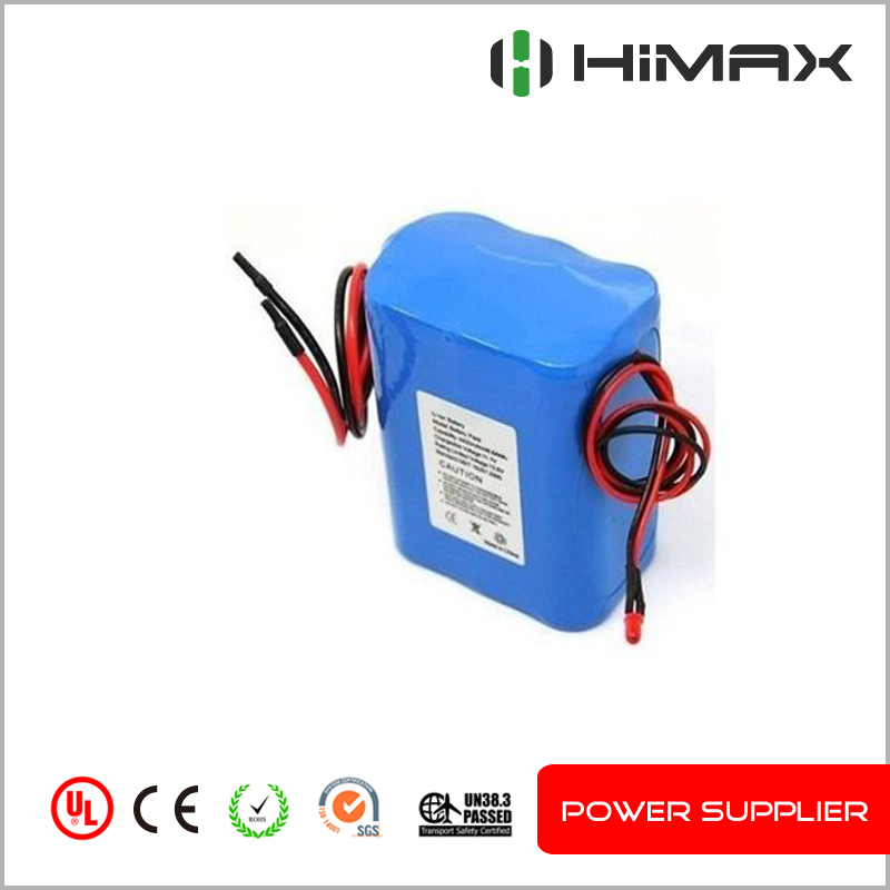 Lithium-ion 12v 6ah rechargeable storage battery pack