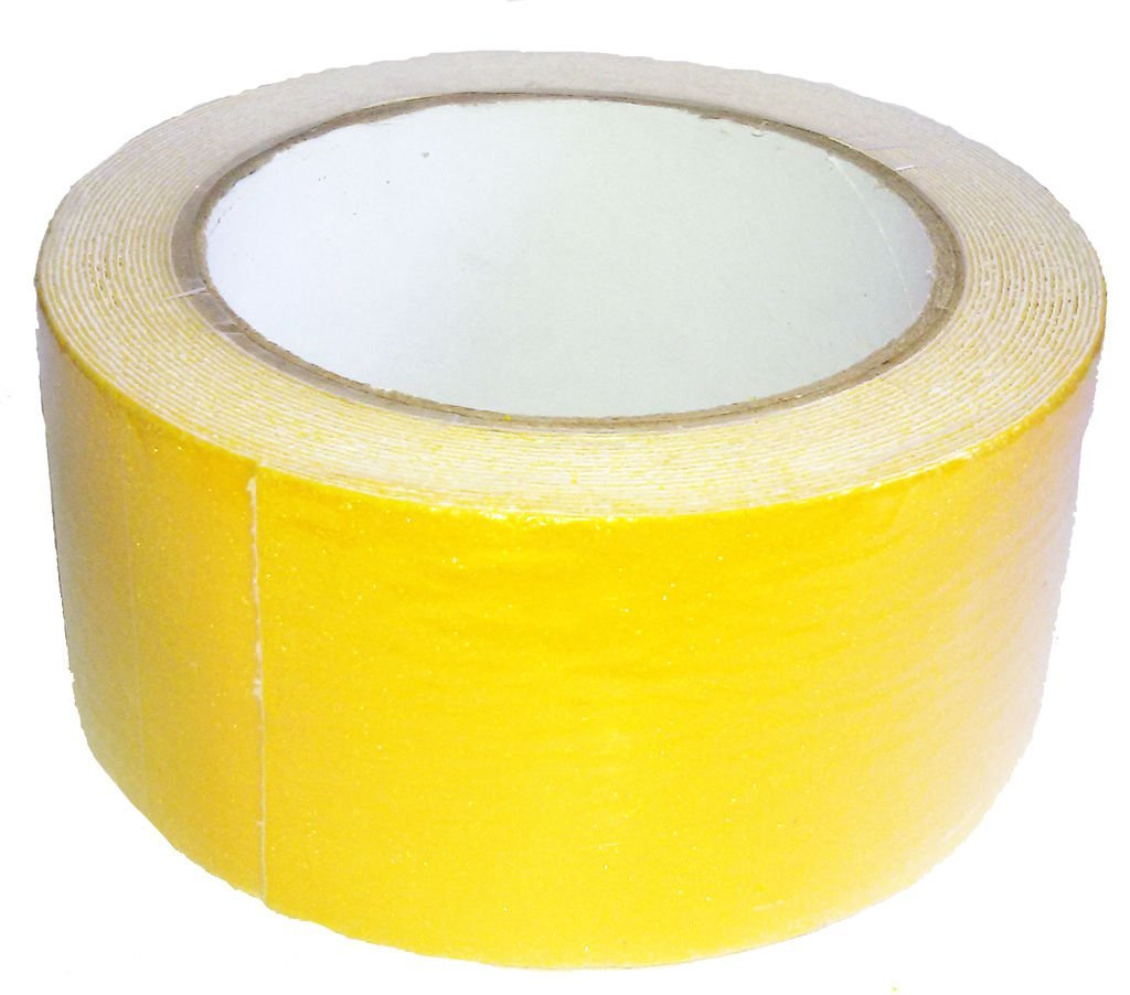 Yellow Anti Slip Safety Grit Non Slip Tape Highest Traction 1.97 Inch x 16.4 Foot,Anti-Slip Tape, Floor tape,stairs Tape,Safety Tape