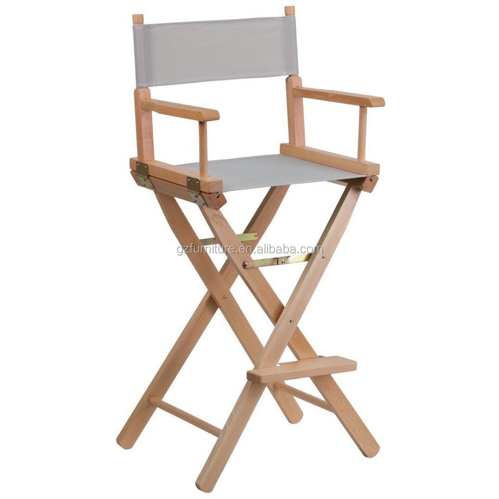 Wooden Directors Chairs cheap outoor camping chair tall folding director chair wooden bar