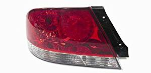OE Replacement Mitsubishi Lancer Driver Side Taillight Assembly (Partslink Number MI2800119)