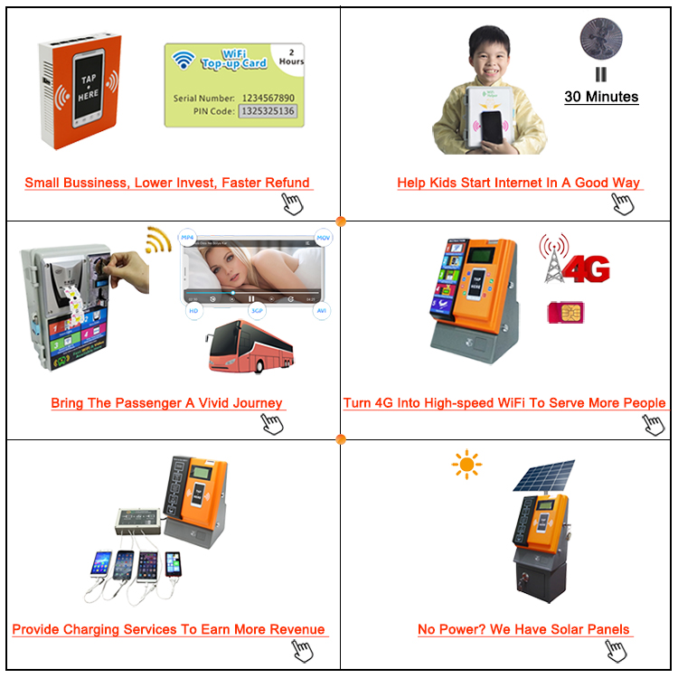2019 New And Hot Product Small Coin Operated 24 Hours Self-Service Automatic WiFi Vending Machine Innovative Products