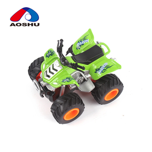 Truck 4pcs cross-country mini motorcycle toys diecast car for kids