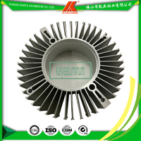 Large Aluminum Profile Radial HeatSink For Computer LED Light Cooling