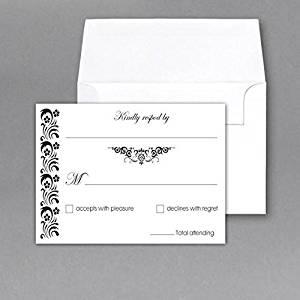 cheap rsvp cards for wedding find rsvp cards for wedding deals on