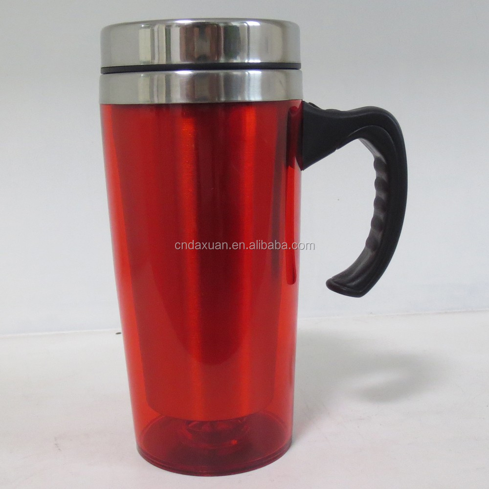 16OZ/450ML Double wall stainless steel auto mug tumbler,car mug, cup manufacturer