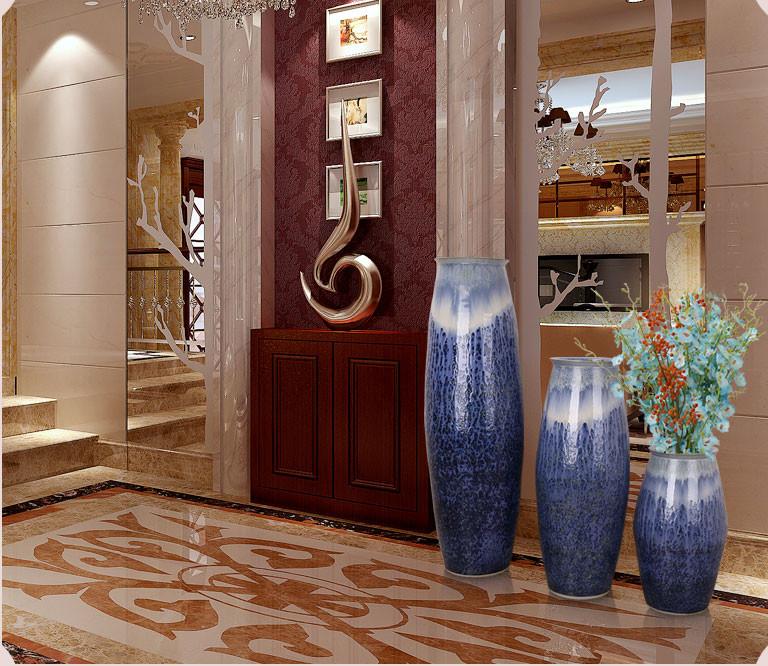 Hotel Decoración Cerámica Decorativos Grandes Jarrones De Suelo Buy Grandes Jarrones Decorativosjarrones De Cerámicadecoración De Jarrones De Piso