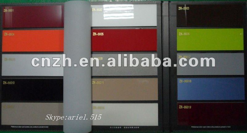 High Glossy Acrylic Pvc Lamination Sheet Plastic Pvc Sheet