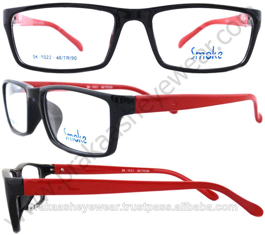 diseñador de moda de plástico tr90 gafas de marco óptico-Molduras ...