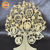 hot sale special photo etched metal christmas tree for table decorations